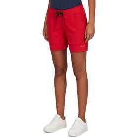 PYUA Marsh S Pantalones cortos Mujer, jester red